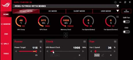 Asus inicia beta aberto do GPU Tweak III para overclock em placas AMD e Nvidia