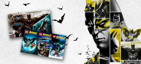 Batman Arkham Collection e LEGO Batman Trilogy estão gratuitos na Epic Games Store