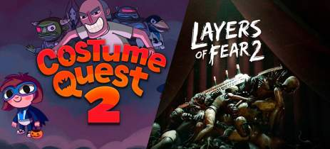 Layers of Fear 2 e Costume Quest 2 estão gratuitos na Epic Games Store