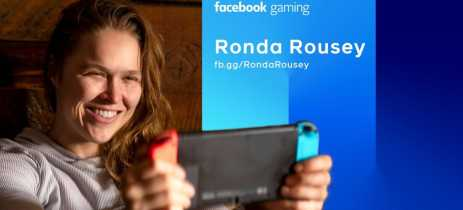 Ronda Rousey é a mais nova streamer exclusiva do Facebook Gaming