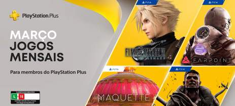PS Plus em março: Final Fantasy VII Remake, Remnant: From the Ashes e mais