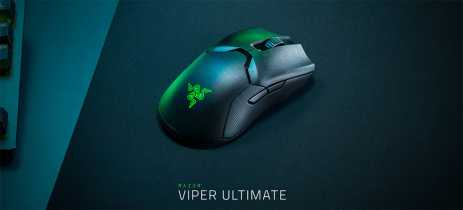 Razer anuncia mouse wireless Viper Ultimate com tecnologia proprietária