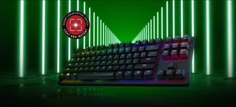 Razer anuncia novo teclado Huntsman Tournament Edition focado em esports