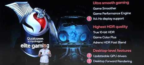 Update de drivers e telas 144Hz chegam aos smartphone! Qualcomm anuncia o Elite Gaming