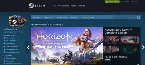 GeForce Now irá sincronizar automaticamente com a sua biblioteca da Steam